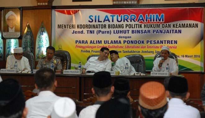 Menkopolhukam Yakinkan Peran NU bagi Indonesia