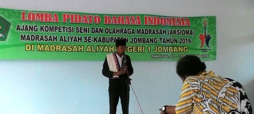 Bermodal DUIT, Agus Fery Juara Lomba Pidato di Jombang