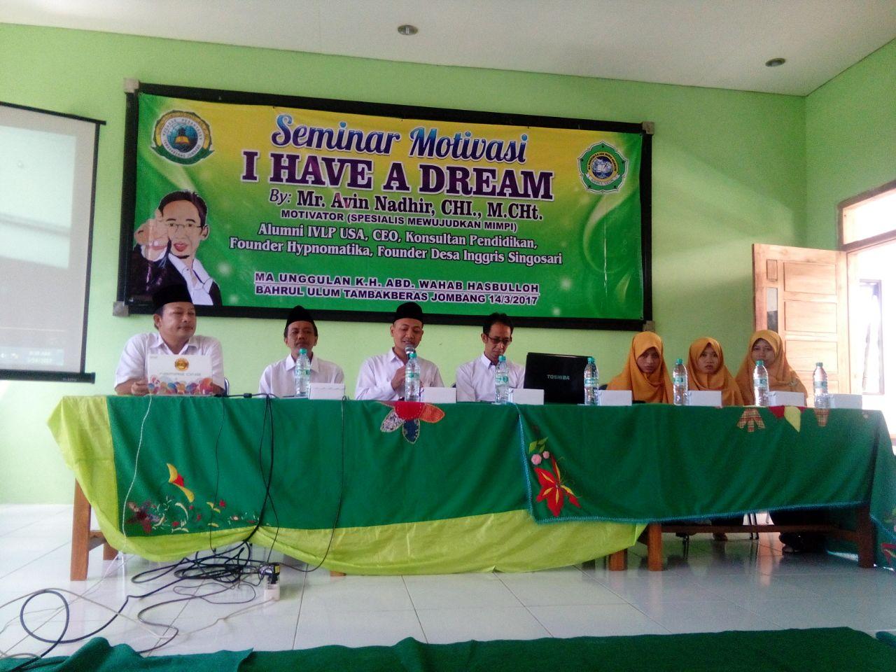 Siswa MAU-WH buat Seminar Motivasi