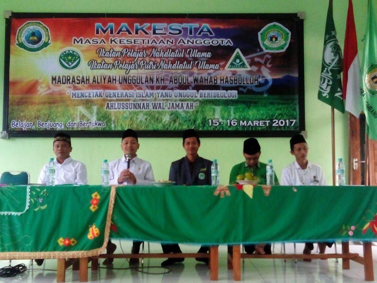 Makesta: Bekal Awal Kader Nahdlatul Ulama