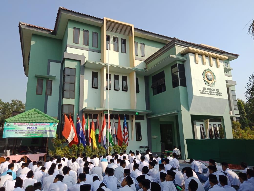 Donor Darah, Cara MAUWH Tambakberas Peduli Gempa di Lombok