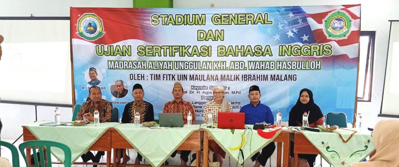 Stadium General dari UIN Malang