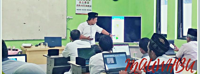 Puluhan Guru MAU-WH Mengikuti Pelatihan Pembuatan Daftar Hadir Elektronik