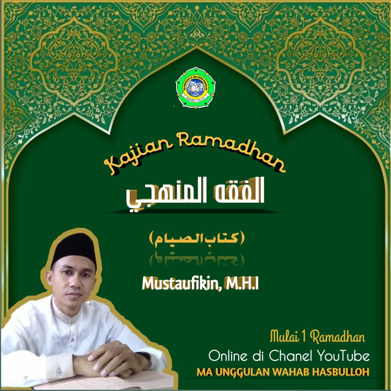 Pengajian Ramadhan Online MA Unggulan K.H. Abd. Wahab Hasbulloh (Day 5)