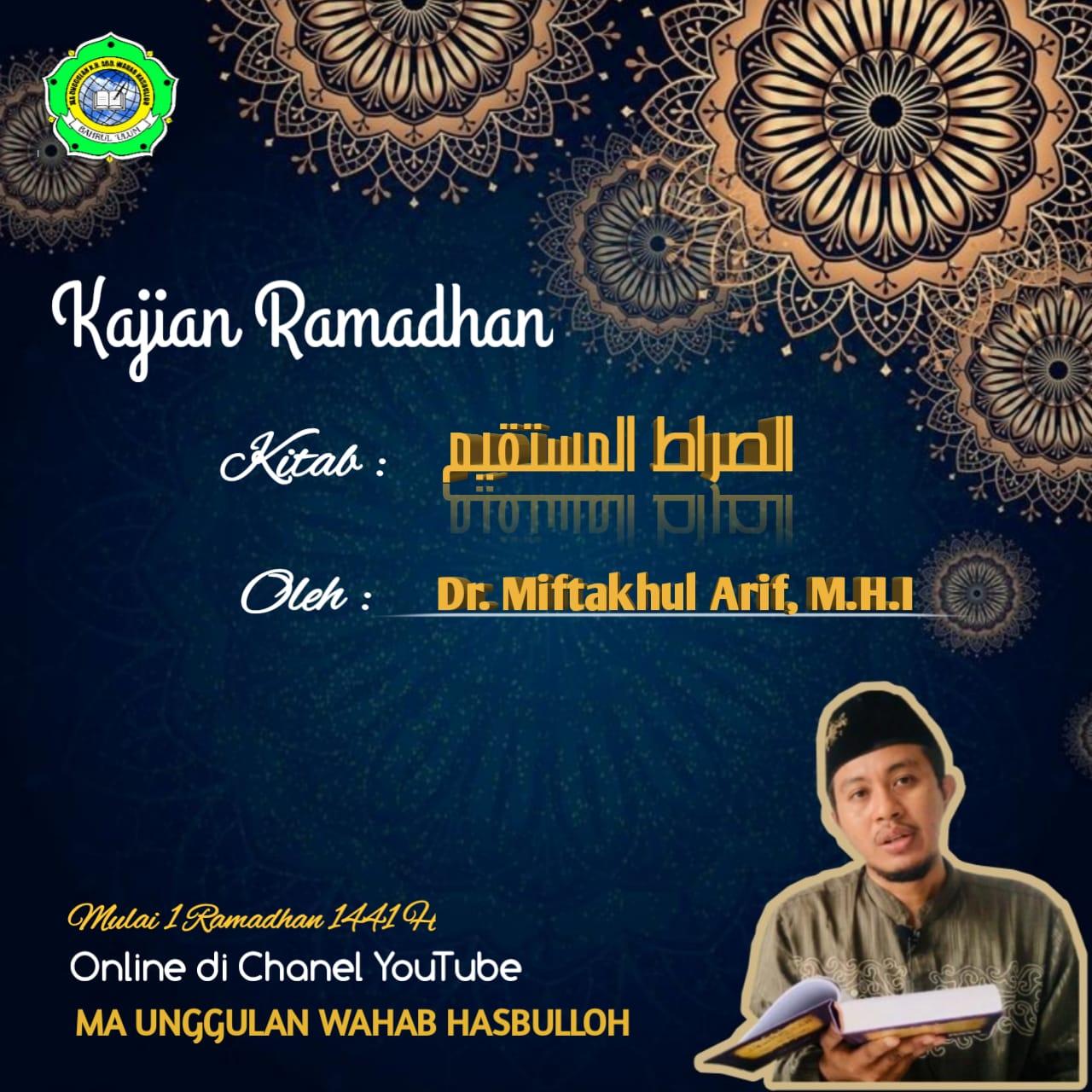 Pengajian Ramadhan Online MA Unggulan K.H. Abd. Wahab Hasbulloh (Day 16)
