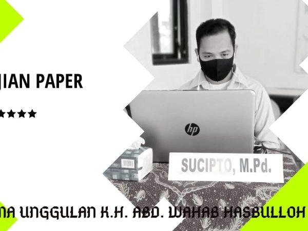 Ujian Paper Virtual, Mengapa Tidak?
