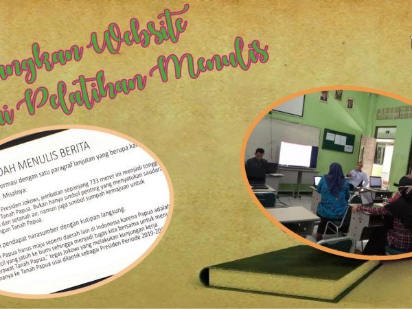 Kembangkan Website melalui Pelatihan Menulis