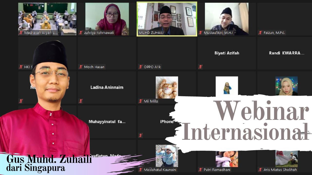 MAUWH Hadirkan Pemateri Singapura dalam Webinar Internasional