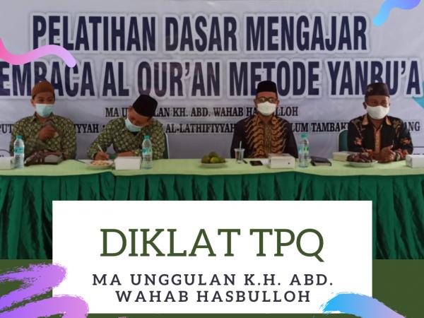 Gandeng Lembaga Metode Yanbu'a, MAUWH Cetak Guru TPQ